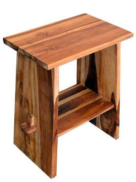 Waschtisch aus Holz für Gäste Toilette