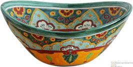 VERANO VERDE - MEX7 Aufsatzwaschbecken oval aus Mexiko