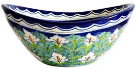 CALLA - MEX7 Aufsatzwaschbecken oval aus Mexiko