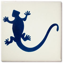 OC Gecko Blau - 11x11 cm - Mexiko Fliese