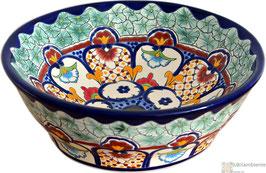 CANCUN - MEX4 Aufsatzwaschbecken aus Mexiko
