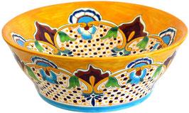 PUEBLA - MEX4 Aufsatzwaschbecken aus Mexiko