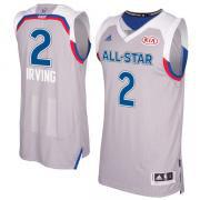 Баскетбольная майка All Star Game 2017 NOLA № 2 Кайри Ирвинг ВОСТОК серая SWINGMAN