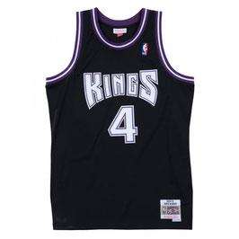 Сакраменто Кингз № 4 Крис Уэббер черная баскетбольная майка NBA SWINGMAN РЕТРО купить