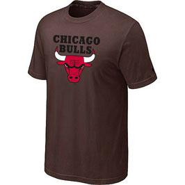 купить футболку Чикаго Булс коричневую