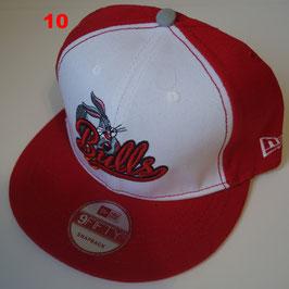 Чикаго Буллз бейсболка NBA №10 купить красную с красным прямым козырьком и зайчиком