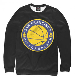 свитшот NBA черный Голден Стэйт Уорриорз 2