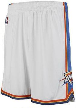 Баскетбольные шорты НБА Оклахома Сити Тандерс белые SWINGMAN REV30