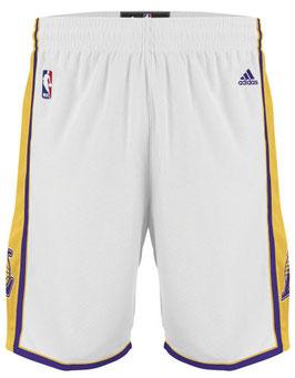 Баскетбольные шорты NBA Лос Анджелес Лейкерс LA LAKERS белые SWINGMAN REV30