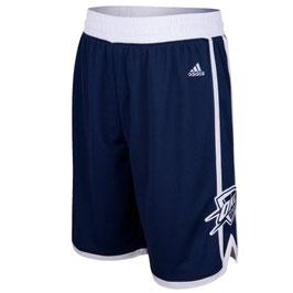 Баскетбольные шорты НБА Оклахома Сити Тандер синие SWINGMAN REV30