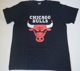 купить футболку Чикаго Булс черную