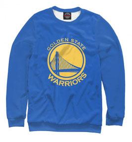 свитшот NBA синий Голден Стэйт Уорриорз