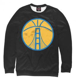 свитшот NBA черный Голден Стэйт Уорриорз
