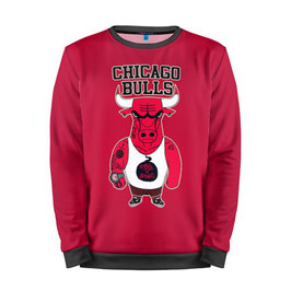 кофта NBA красная Чикаго Булс 3
