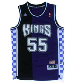 Сакраменто Кингз № 55 Джейсон Уильямс фиолет/черный Баскетбольная майка NBA SWINGMAN РЕТРО купить