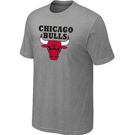 купить футболку Чикаго Булс светло-серую