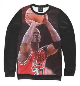 кофта NBA черная Чикаго Булс Майкл Джордан