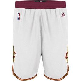 Баскетбольные шорты NBA Кливленд Кавальерс / Cleveland Cavaliers белые SWINGMAN REV30