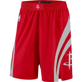 Баскетбольные шорты  NBA Хьюстон Рокетс красные SWINGMAN