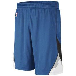 Баскетбольные шорты NBA Миннесота Тимбервулвз синие SWINGMAN REV30