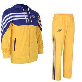 разминочный баскетбольный костюм НБА команды Лос-Анджелес Лейкерс цвет желтый