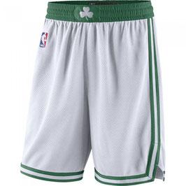 Баскетбольные шорты НБА Бостон Селтикс белые SWINGMAN