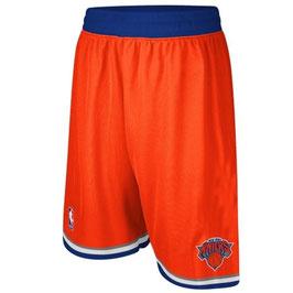 Баскетбольные шорты Нью Йорк Никс оранжевые SWINGMAN REV30