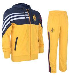 разминочный баскетбольный костюм НБА команды Кливленд Кавальерс цвет желтый