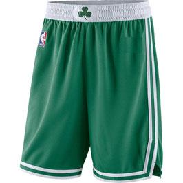 Баскетбольные шорты НБА Бостон Селтикс зеленые SWINGMAN