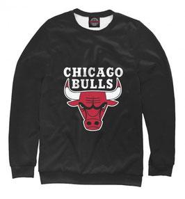 кофта NBA черная Чикаго Булс