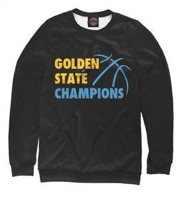 свитшот NBA черный Голден Стэйт Уорриорз 3