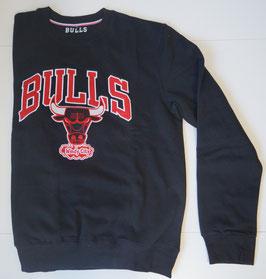 купить толстовку Чикаго Булс черную биг лого