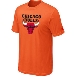 купить футболку Чикаго Булс оранжевую