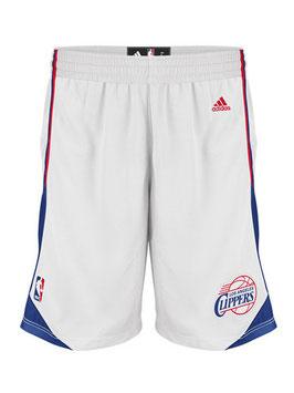 Баскетбольные шорты Лос Анжелес Клипперс белые SWINGMAN REV30