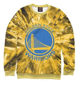 свитшот NBA желтый Голден Стэйт Уорриорз 3
