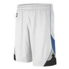 Баскетбольные шорты NBA Миннесота Тимбервулвз белые SWINGMAN REV30