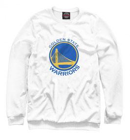свитшот NBA белый Голден Стэйт Уорриорз
