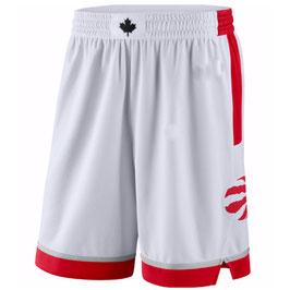 Баскетбольные шорты НБА Торонто Рэпторс белые SWINGMAN
