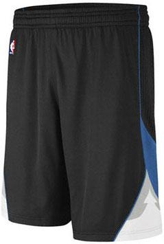 Баскетбольные шорты NBA Миннесота Тимбервулвз черные SWINGMAN REV30