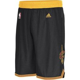 Баскетбольные шорты NBA Кливленд Кавальерс / Cleveland Cavaliers черные SWINGMAN REV30