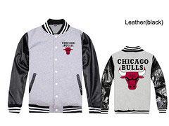 купить куртку Чикаго Булс серую