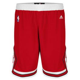 Купить баскетбольные шорты Чикаго Булс красные NBA SWINGMAN REV30