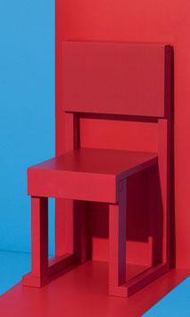Chair EASYDiA Kids (18 months - 4 yrs) #1 Monocolour. Model TOMATO.