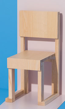 Chair EASYDiA Kids (18 months - 4 yrs) #1 Monocolour. Model NATURAL.
