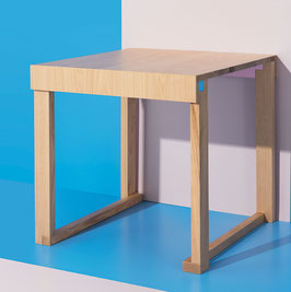 Table EASYoLo Junior (4 - 10 yrs) #1 Monocolour. Model TERRAMARE NATURAL.