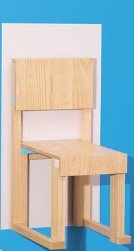 EASYDiA Junior chair (4 – 10 yrs) #1 Monocolour. Model Terramare NaturalCyano Limited.