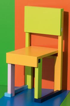 Sedia EASYDiA Kids (18 mesi - 4 anni) #1 Multicolour. Modello STOCCOLMA.