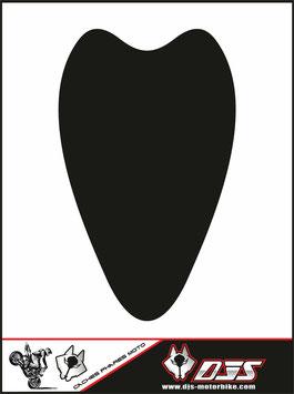 1 cache phare DJS pour Suzuki hayabusa avant 2008 microperforé qui laisse passer la lumière - référence : hayabusa-avant 2008-noir uni-