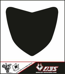 1 cache phare DJS pour Yamaha FZ1  microperforé qui laisse passer la lumière - référence : FZ1 nacked-noir-