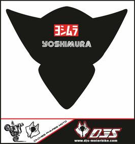 1 cache phare DJS pour Suzuki GSX-R 1000 2005-2006 microperforé qui laisse passer la lumière - référence : gsx-r-1000-2005-2006-010-